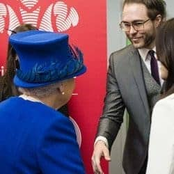 Marc Wileman Winning Queen's Award