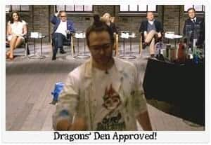 Marc Wileman Winning Dragons Den